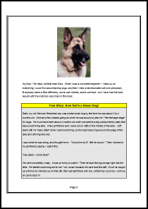 Dog Recall Special Report - Example Page 2